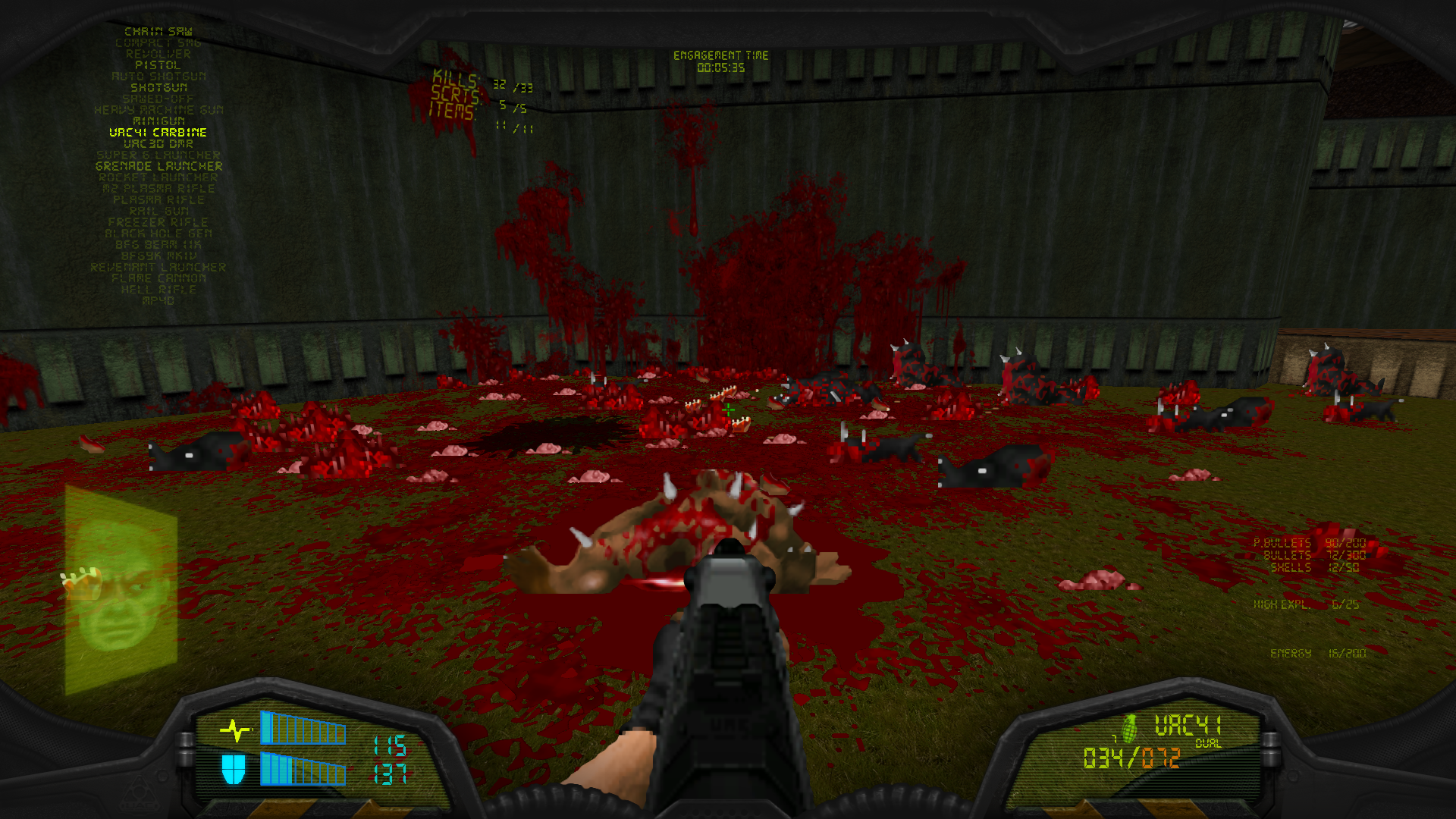 Brutal Doom V21 Test - pokssecrets