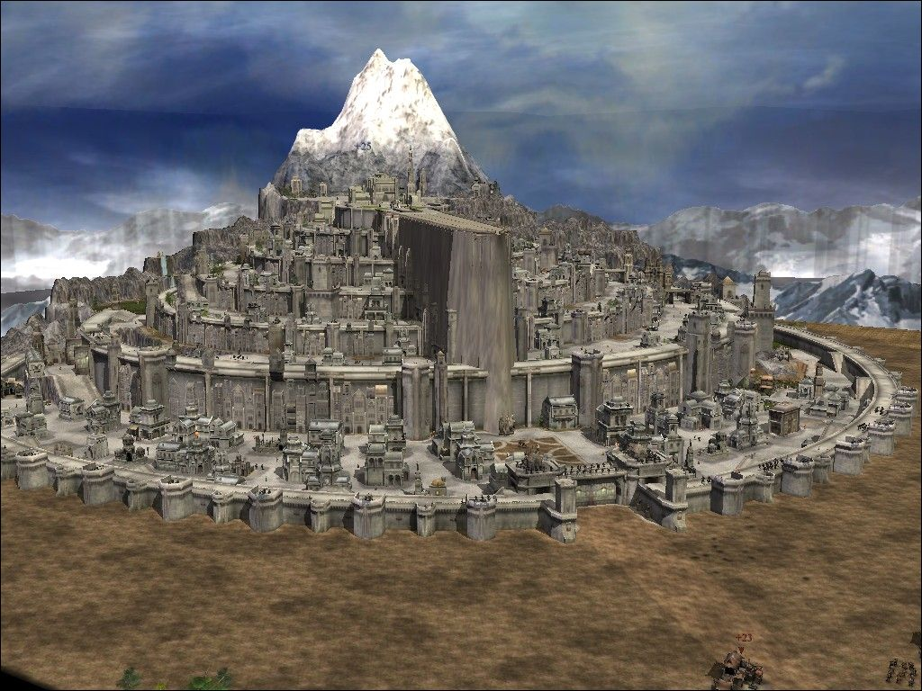 Minas Tirith Addon Battle For Middle Earth Ii Rise Of The Witch