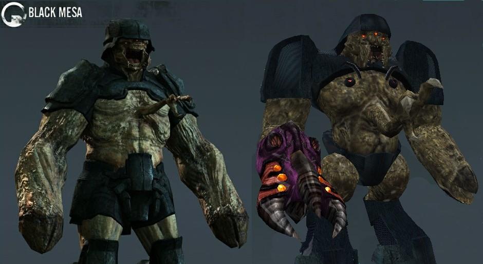 BMS Style Alien Grunt addon - Half-Life - Mod DB