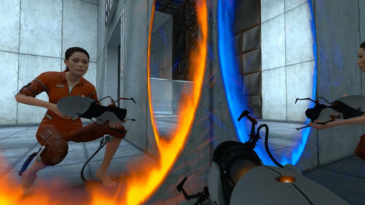Portal 2 Chell addon - Mod DB