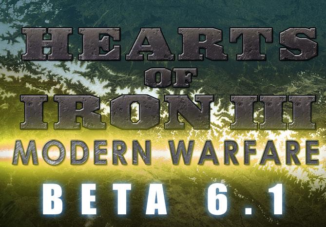 Modern Warfare Beta 6 1 [Hearts of Iron III] file - Mod DB