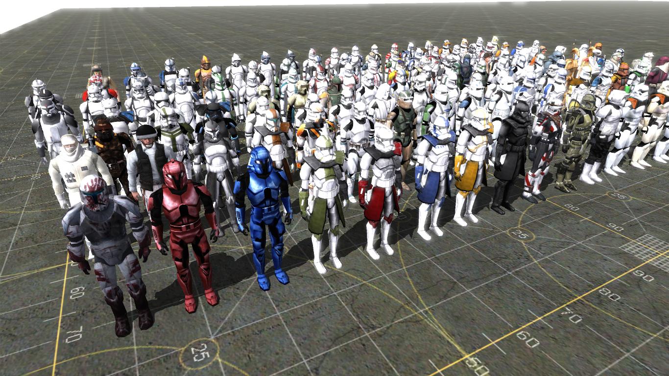 Star Wars SKin Pack 0.1v Addon - Men Of War: Assault Squad ...