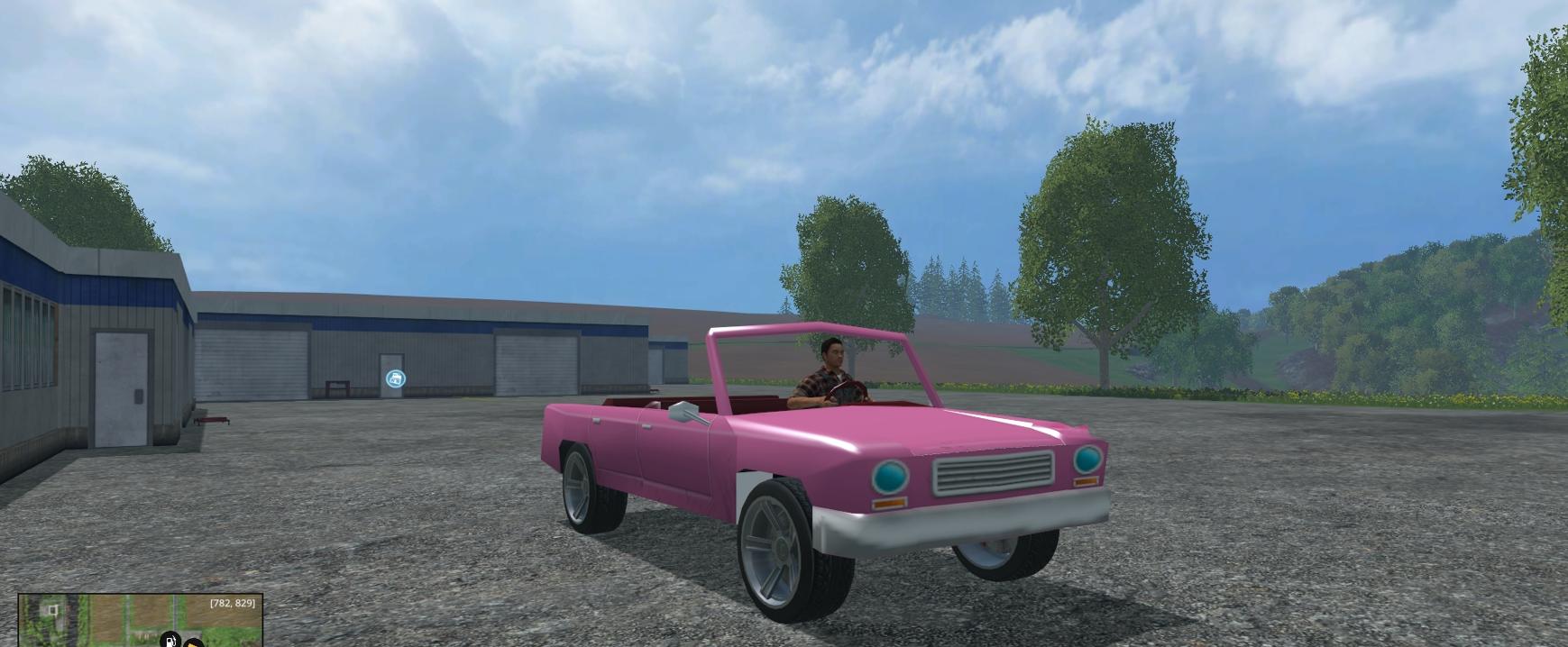 Homer Car: Farming Simulator 15