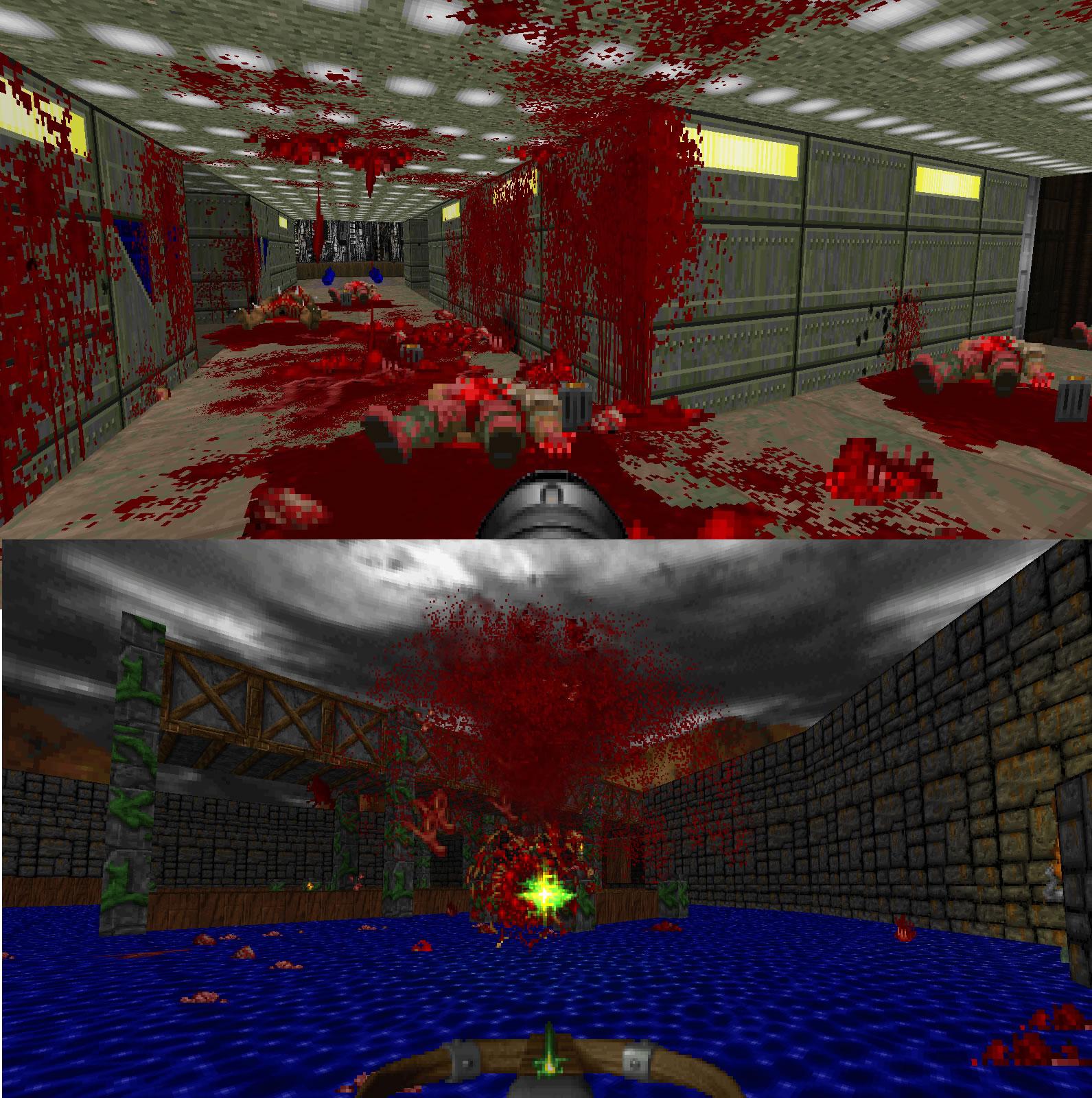 Ketchup v5 Gore Mod addon - Brutal Doom mod for Doom - Mod DB