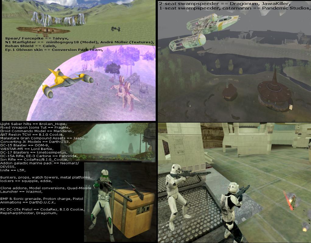 Bfp Map Pack 2 Kashyyyk Naboo Alaris Prime File The Battlefront
