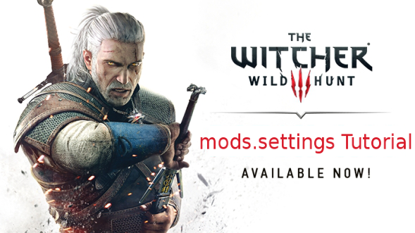Using the mods settings file - The Witcher 3: Wild Hunt