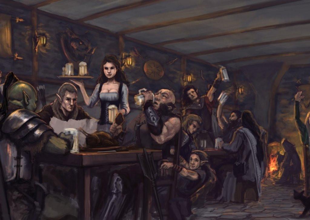 Fantasy Bar Art
