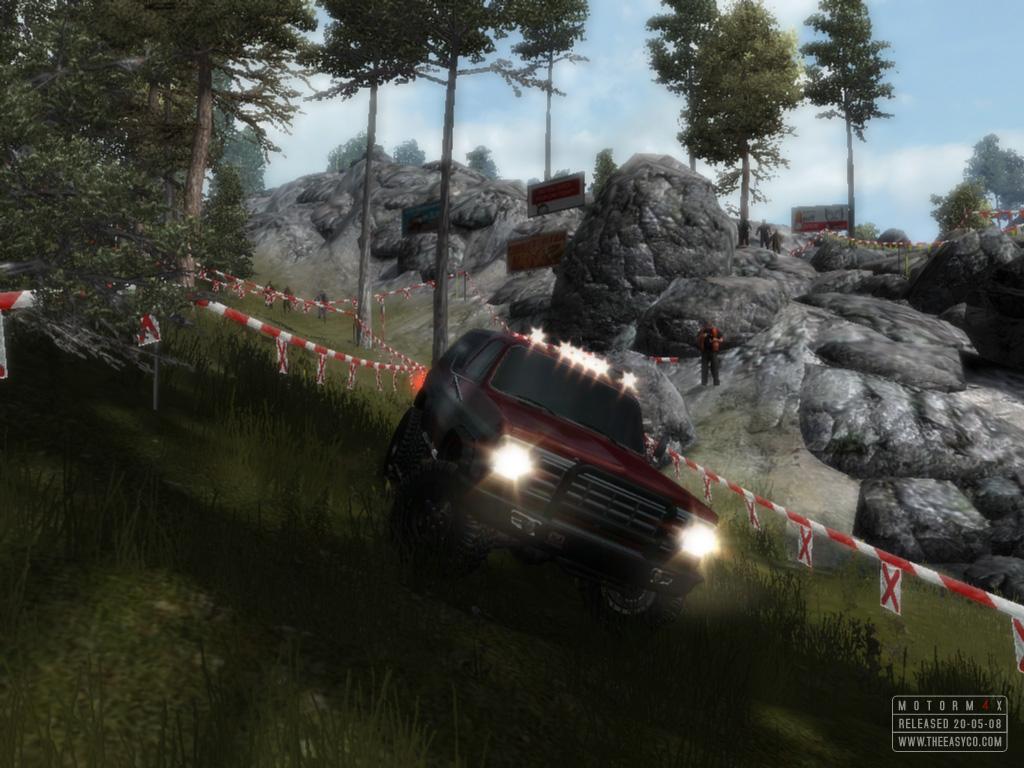 Motorm4x, jeu de voitures utilisant Ogre3D