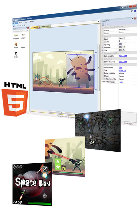 Make HTML5 Games