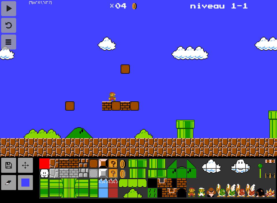 Super Mario Bros, level 1-1 image - Backbone Game Engine - Mod DB