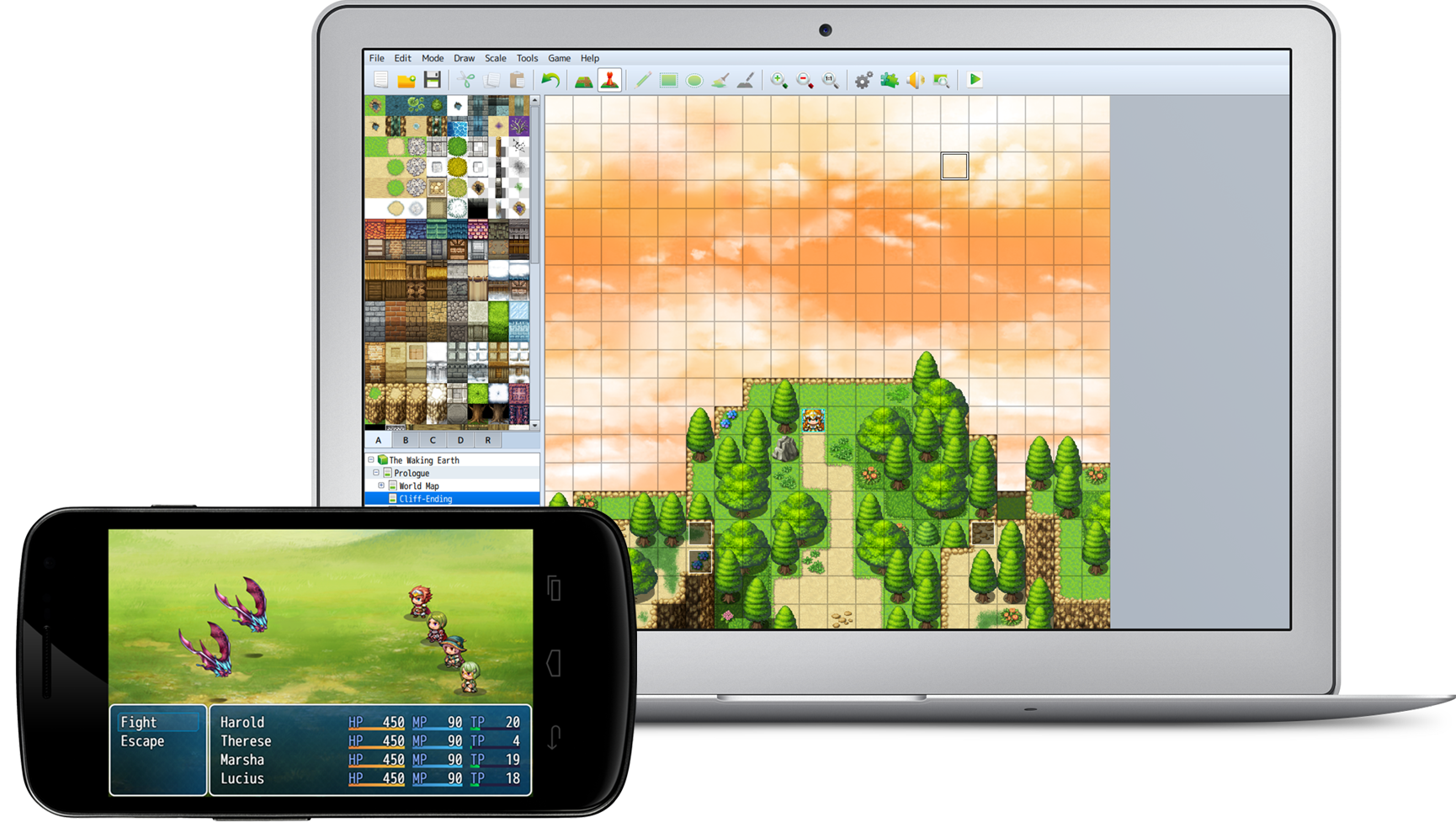 RPG Maker MV Feature Multiplatform Distribution And Mac Support
