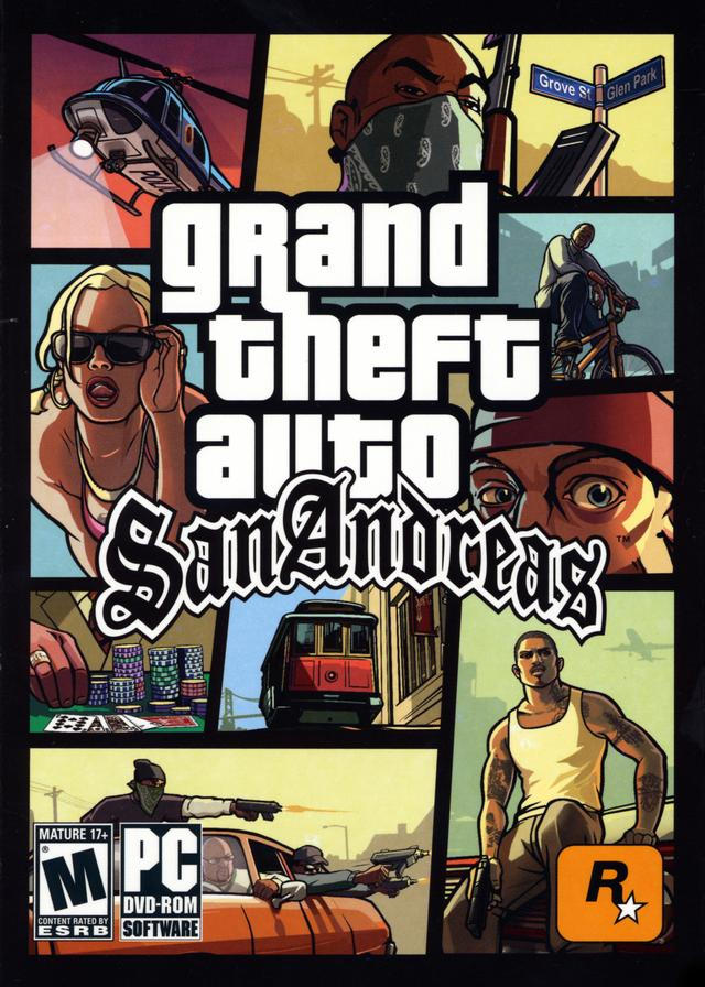 Grand Theft Auto: San Andreas Windows, XBOX, PS2 game