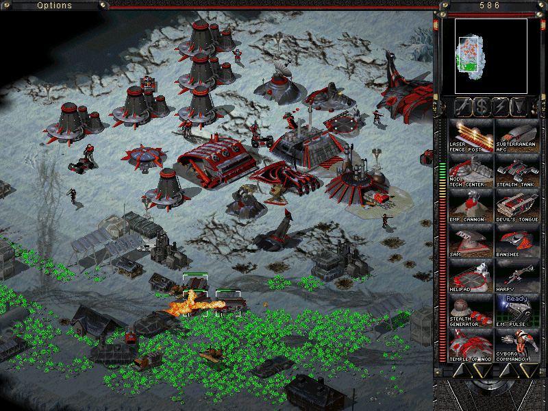 Juegos RTS de Estrategia en 2D C_C_Tiberian_Sun_ss1