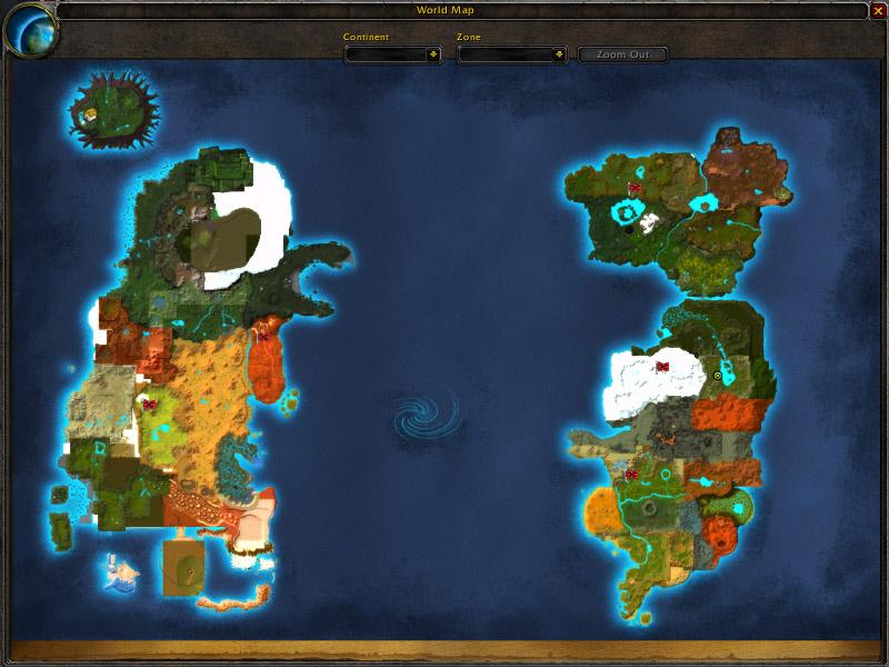 World Of Warcraft Alpha Map Image Mod Db