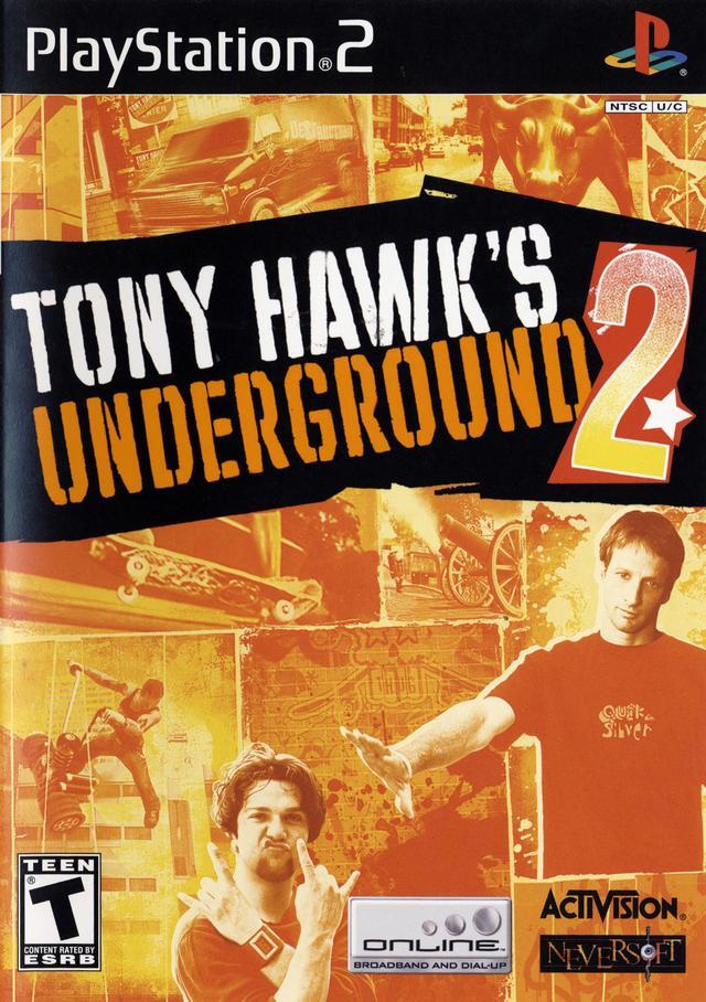 Homepage Sport: Tony Hawk's Underground 2 Windows, XBOX, PS2, PSP, GBA