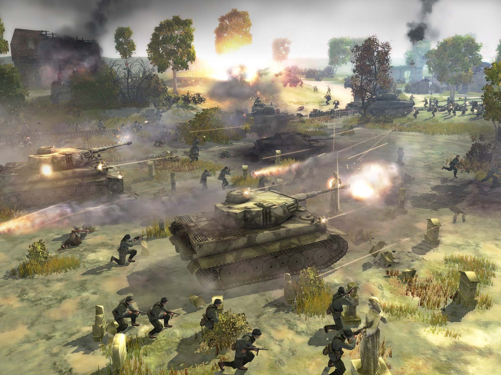 In Game Shot Image Company Of Heroes Mod Db