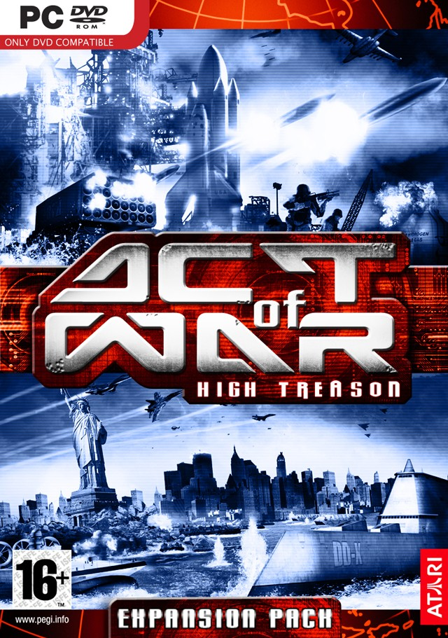 cdkey для act of war high treason: