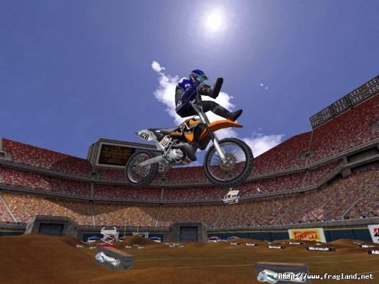 لعبة سباق الدراجات المذهلة Motocross Madness