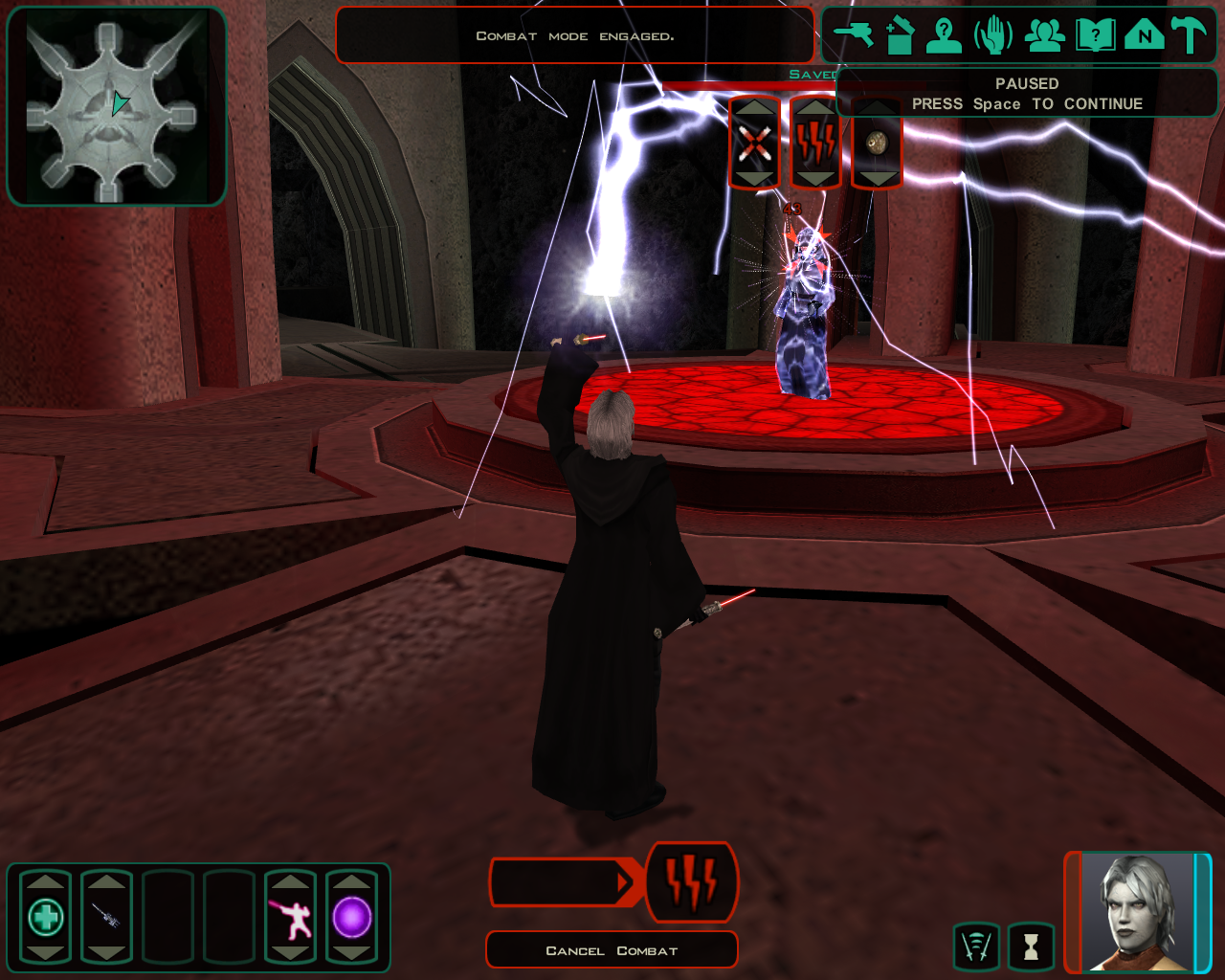 Force Storm Image Star Wars Knights Of The Old Republic Ii Mod Db