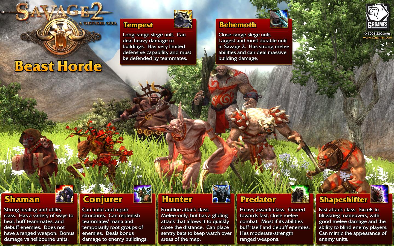 Beast Horde (Beasts) Poster