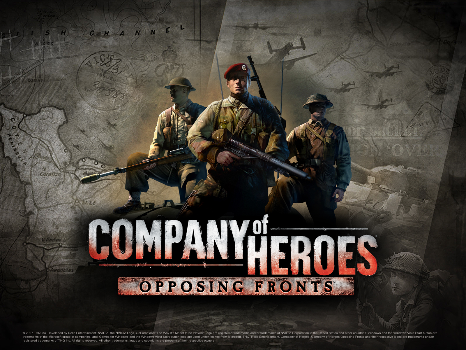 wallpaper 2 image - company of heroes: opposing fronts - mod db
