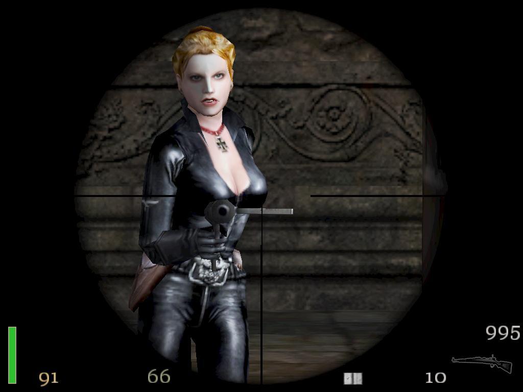 Female SS soldier image - Return To Castle Wolfenstein