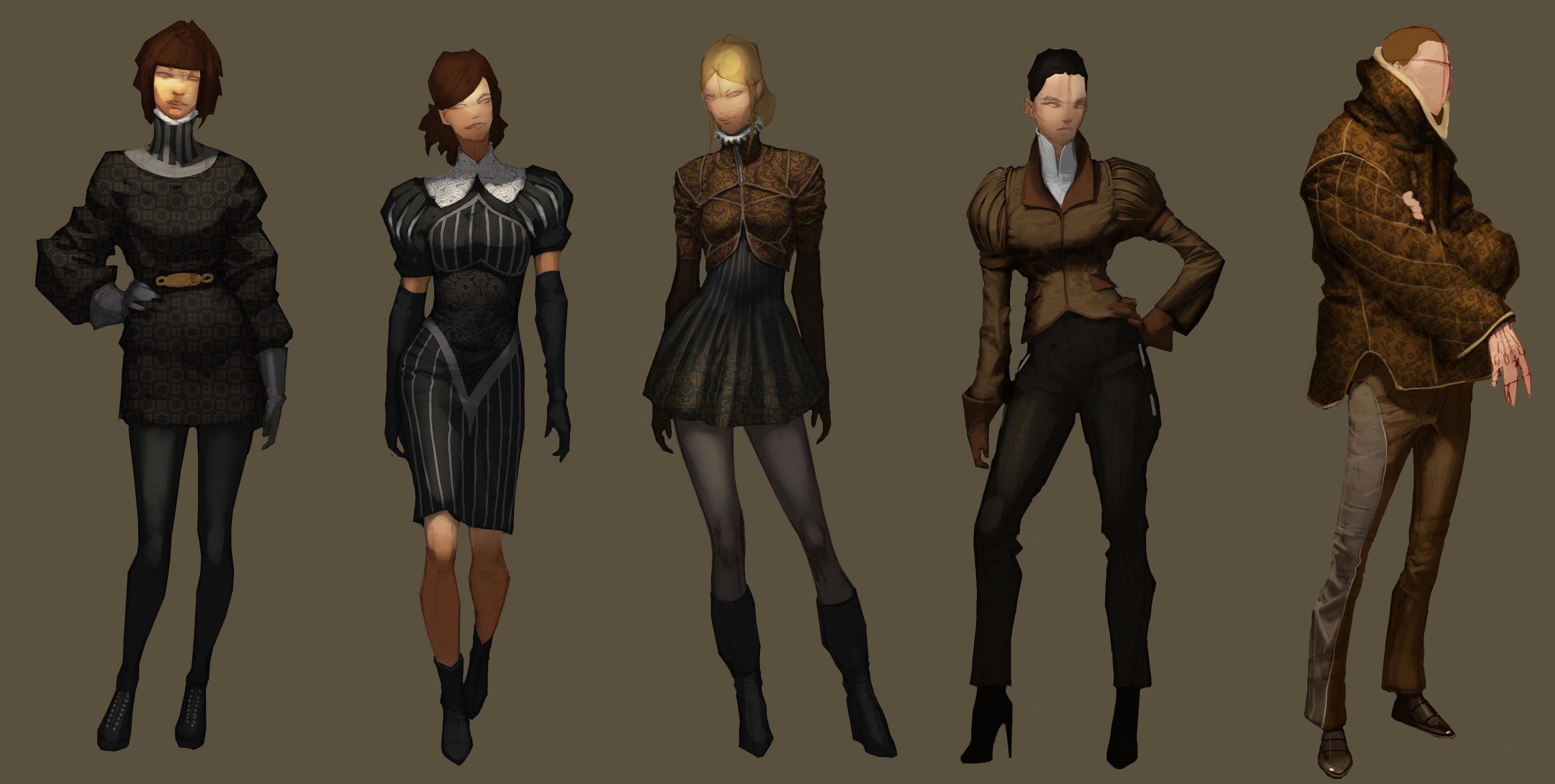 Character And Npc Design : Npc fashion image deus ex human revolution mod db