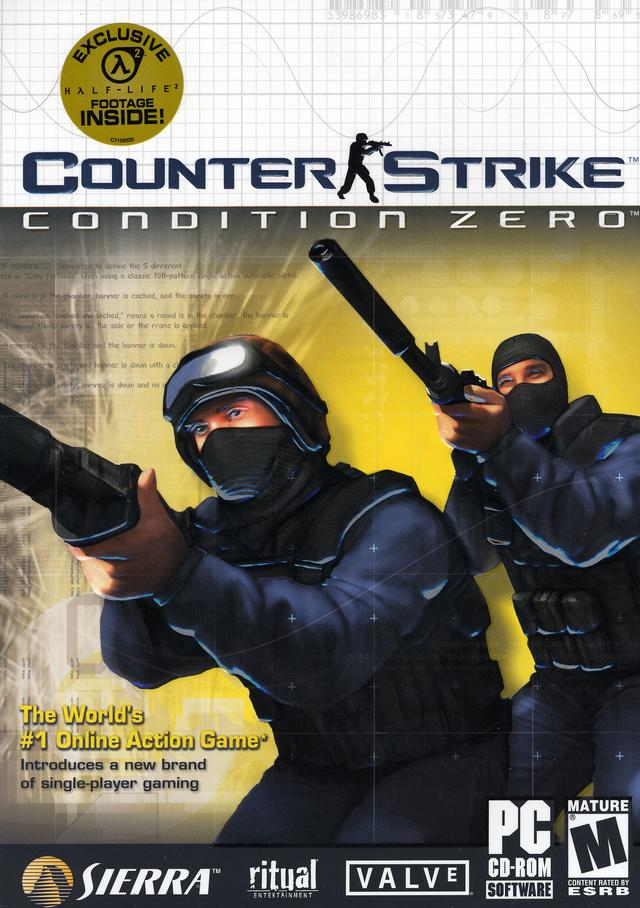 Counter strike condition zero windows game mod db boxart gumiabroncs Images