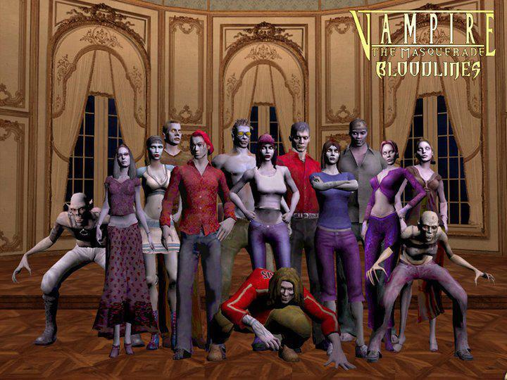 Image result for vampire the masquerade bloodlines clans