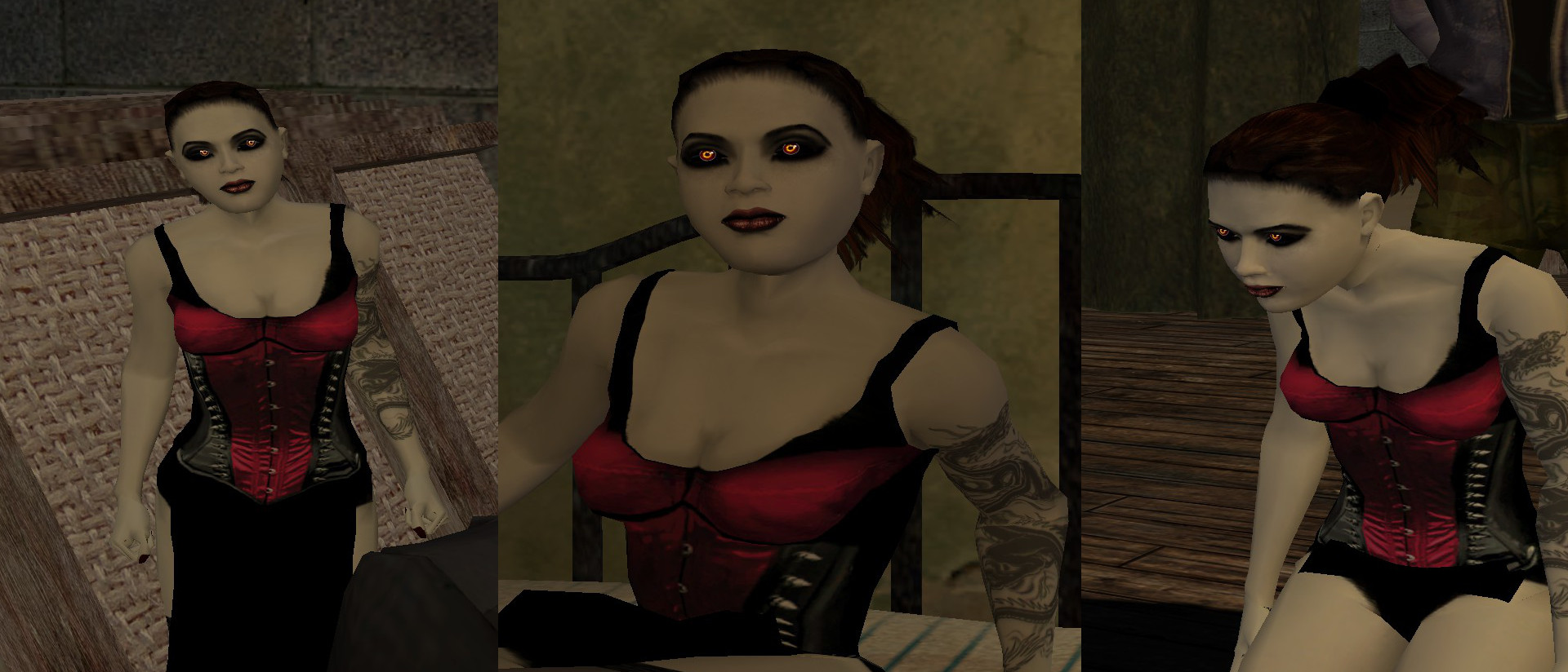 Vampiro mascarada bloodlines tetas
