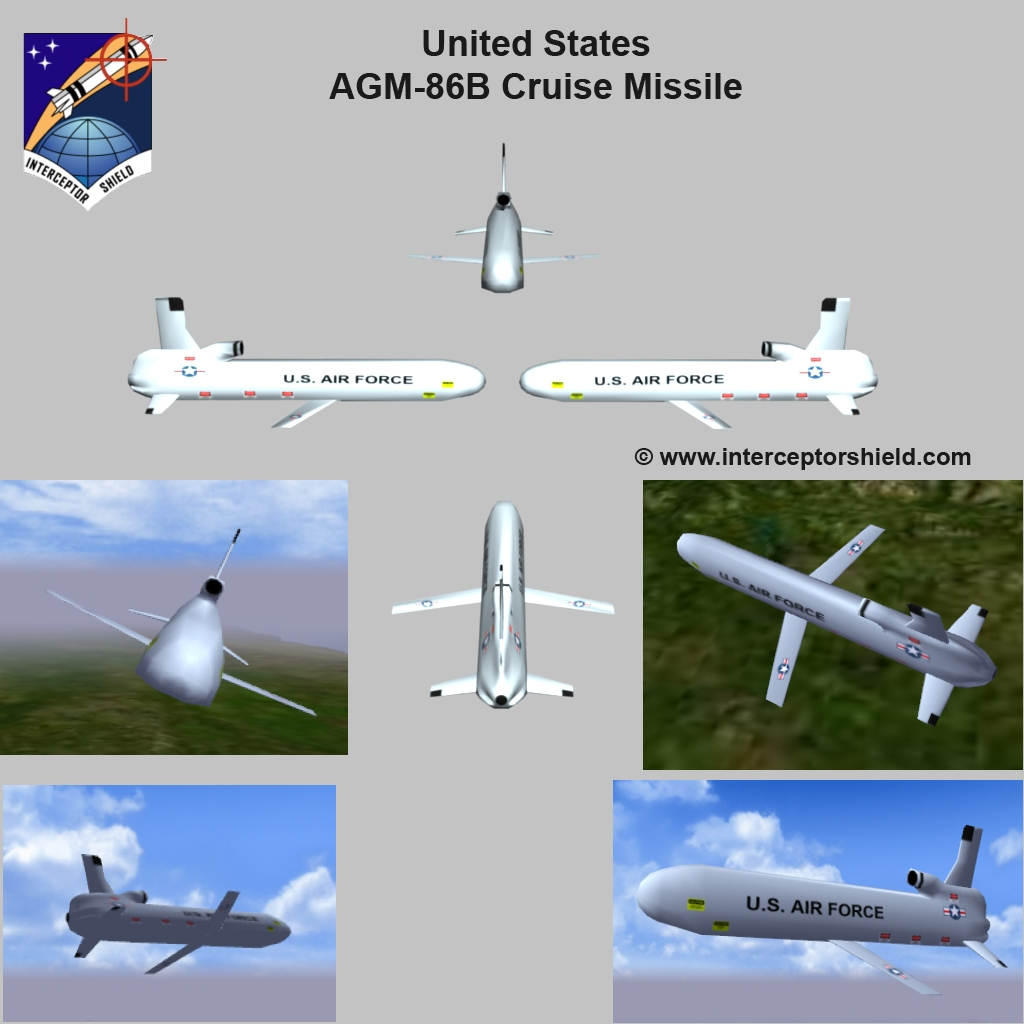 United States Agm 86b Air Launched Cruise Missile Image