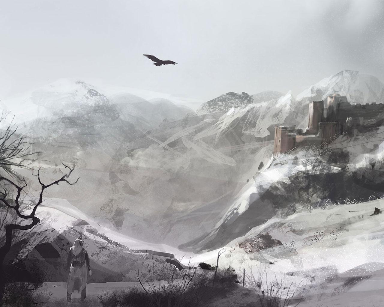 Ac1 Concept Art Wallpaper 7 Image Assassin S Creed Mod Db