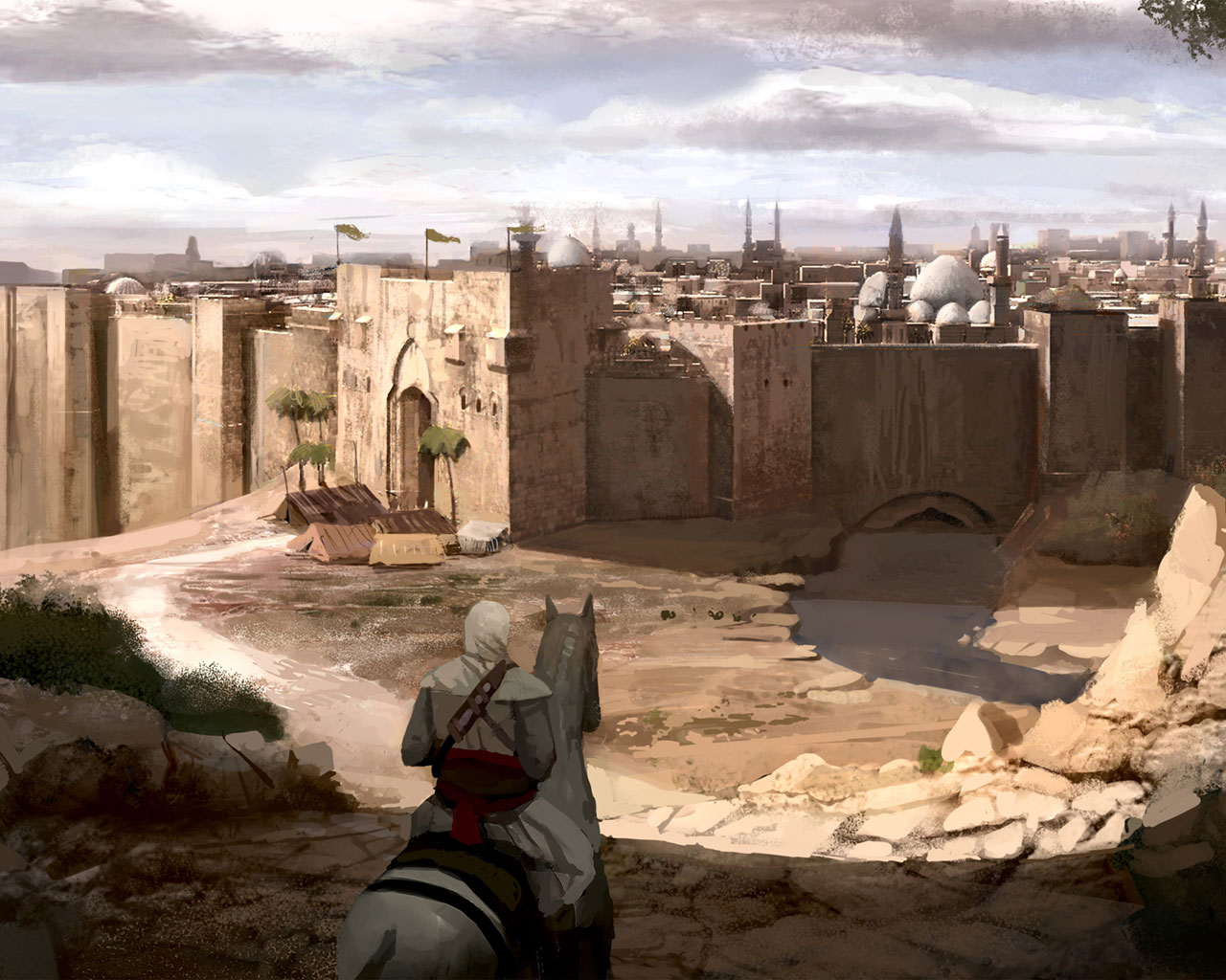 Ac1 Concept Art Wallpaper 9 Image Assassin S Creed Mod Db