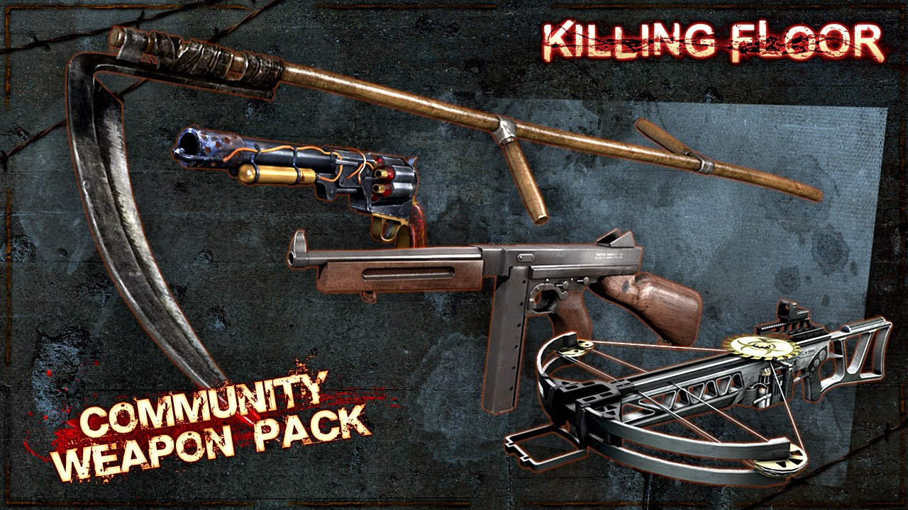 Community Weapons Pack for only $7.99!