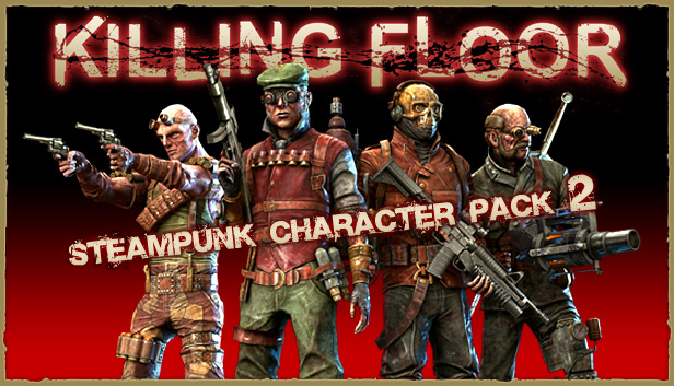 SteamPunk Character Pack 2