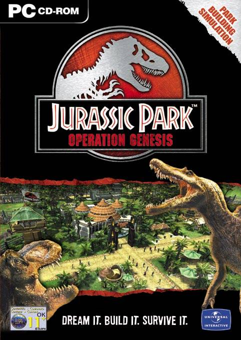 Jurassic Park Operation Genesis Windows Xbox Ps2 Game