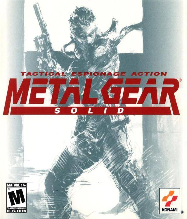 Metal Gear Solid Windows, PS1 Game