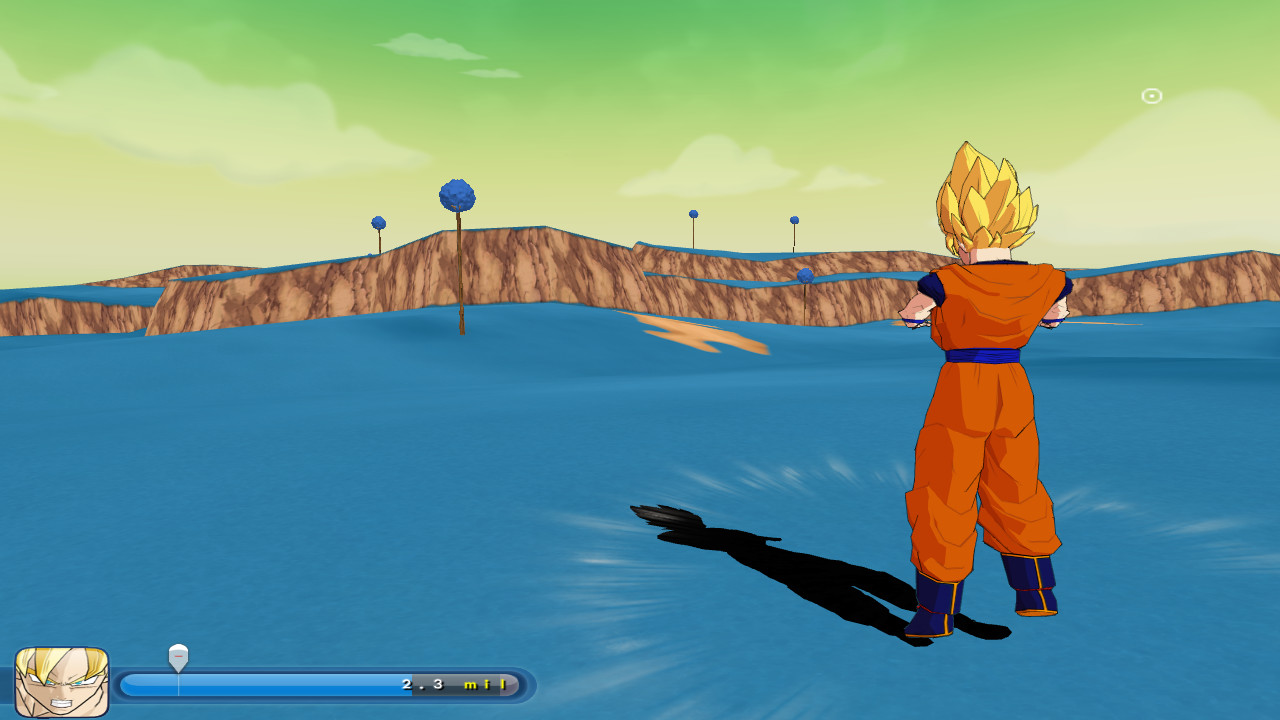 goku on namek image - zeq2 lite