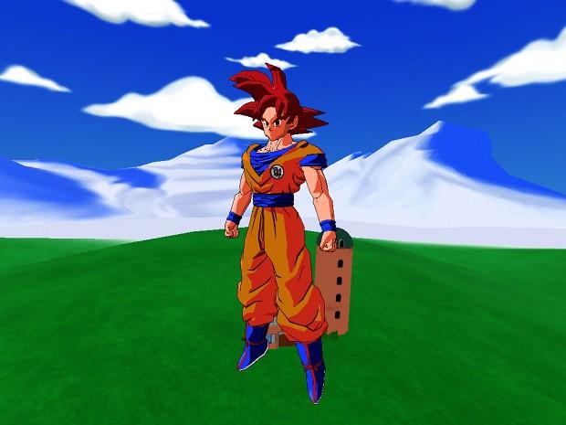 Goku 1 20super Saian Download: Goku Super Saiyan God HD Image