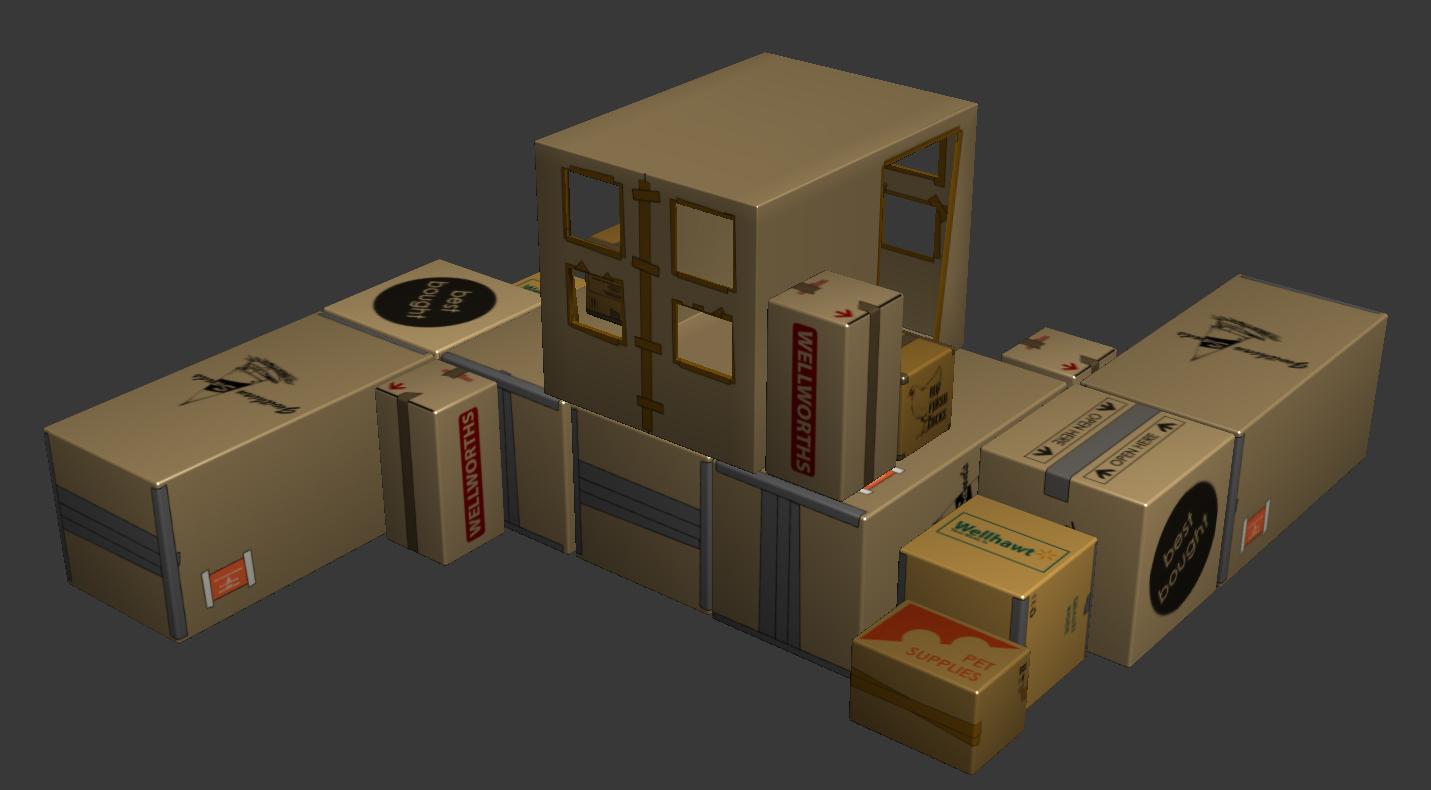 Box Fort Image Elementary School Warfare Mod Db