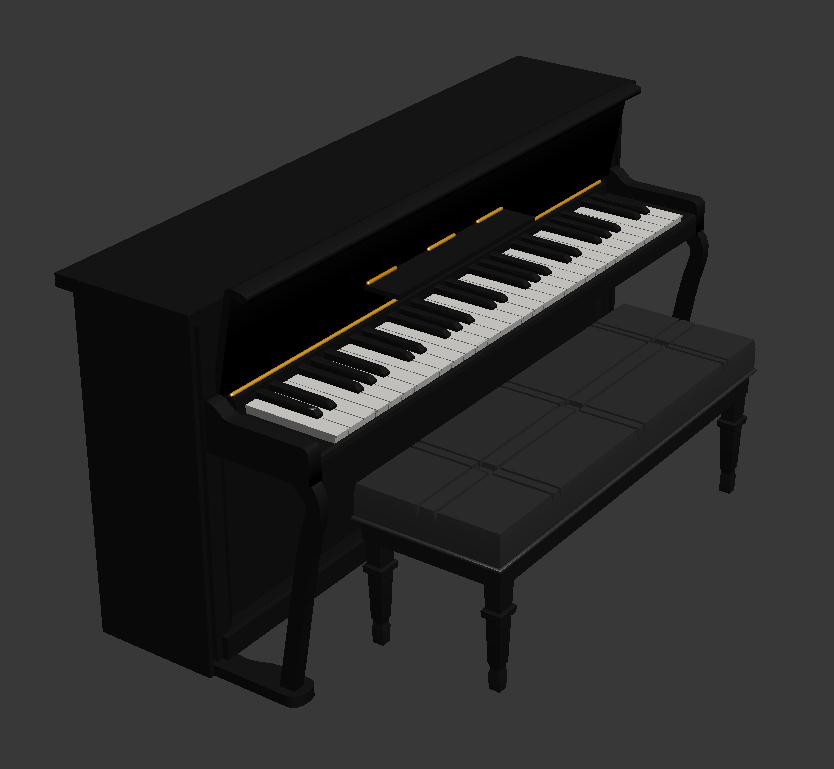 Piano Render