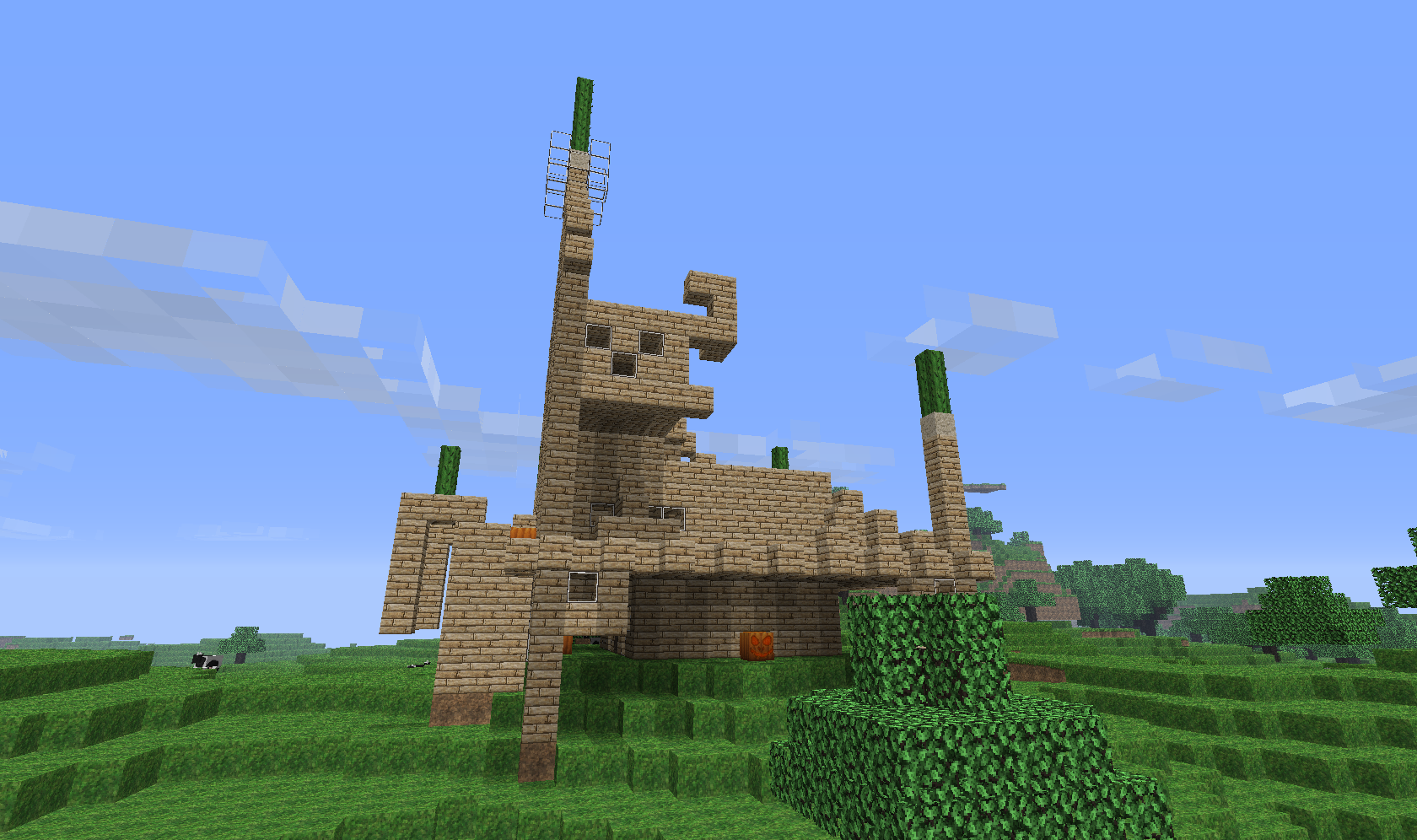 ... media Weirdest house design in history of minecraft (view original