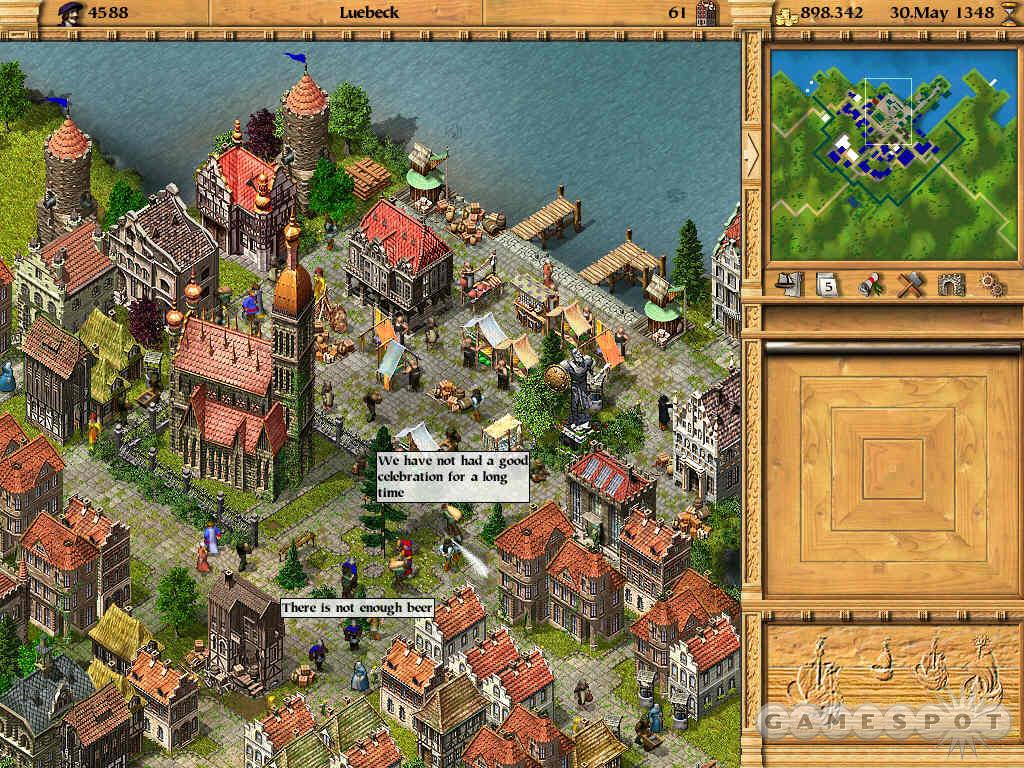 The Patrician business simulation game for PC