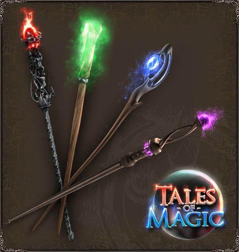 Как сделать красивую волшебную палочку