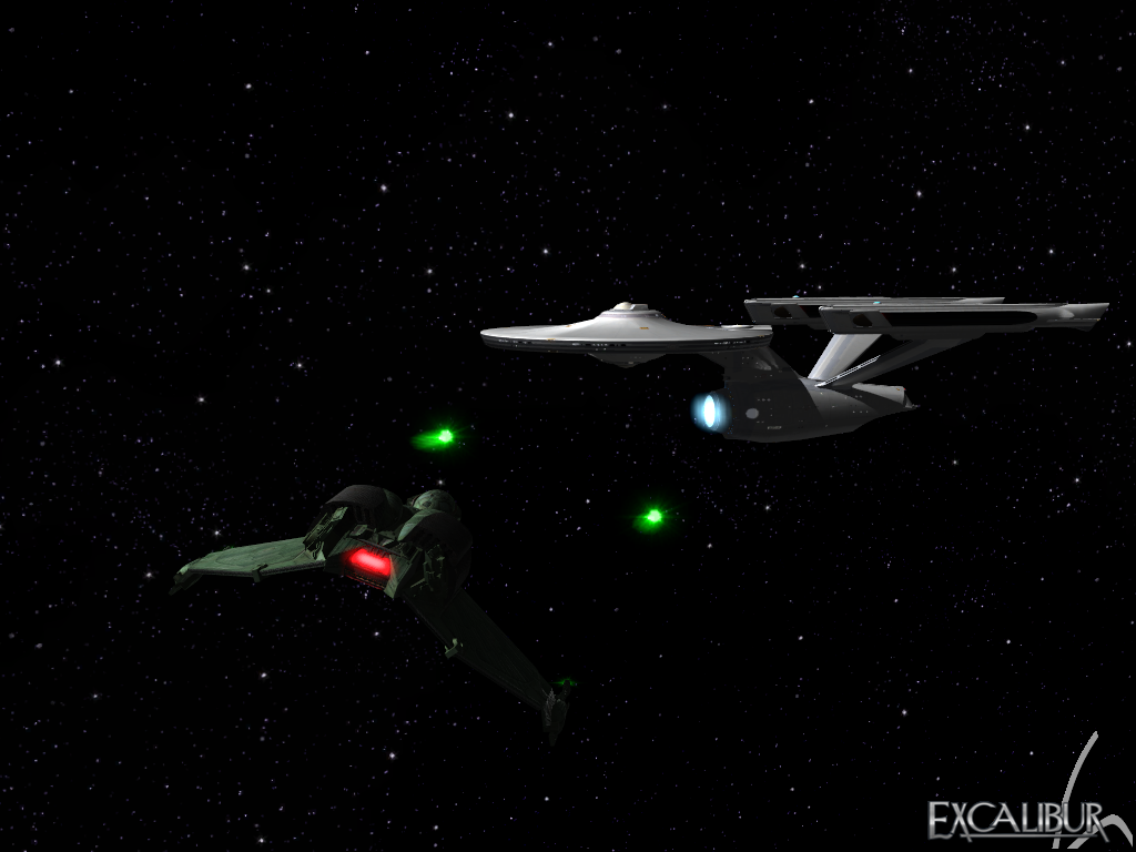 Klingon Birds Of Prey Image Excalibur Mod Db