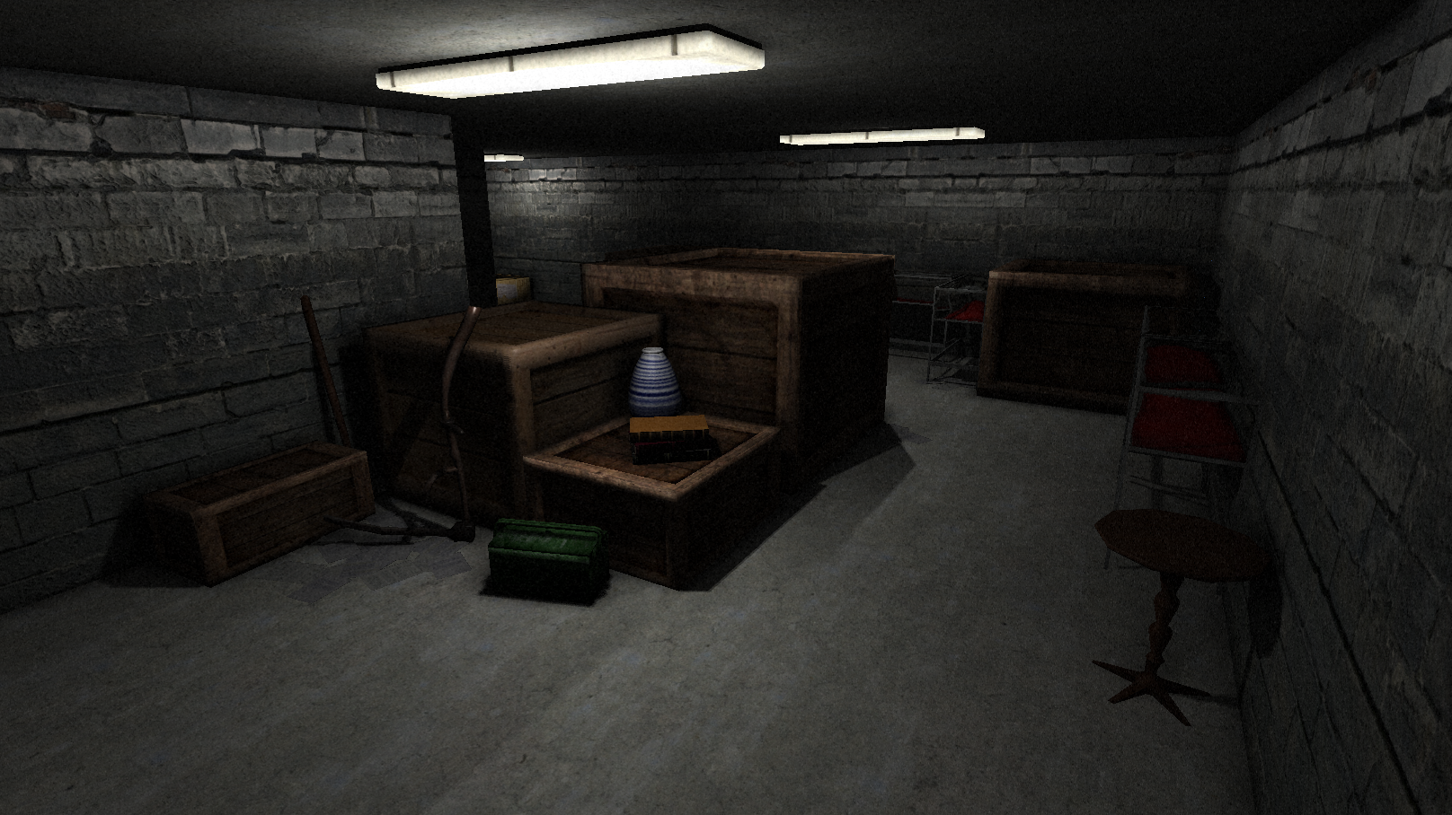 museum basement image - dark secrets