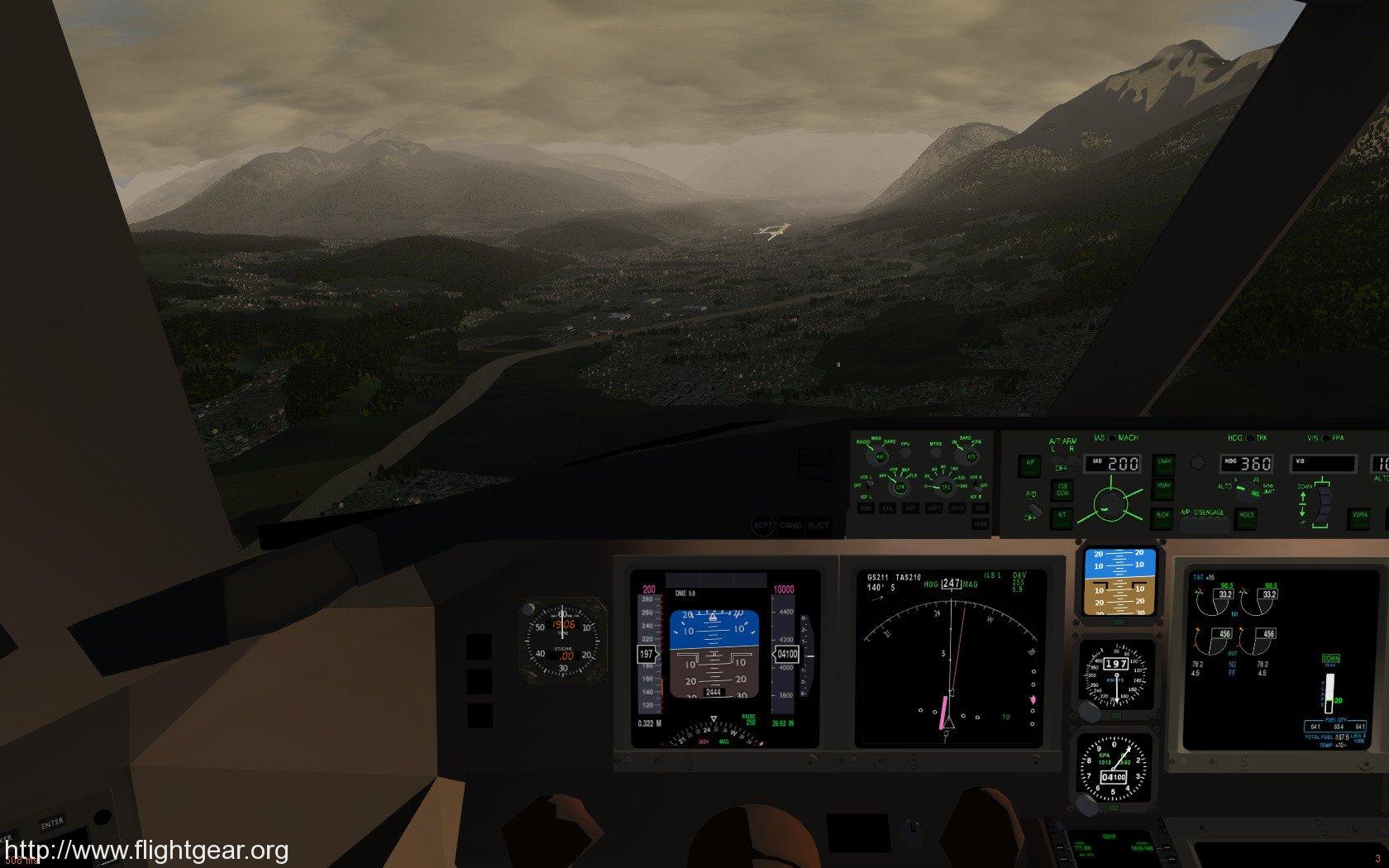 Screenshot image - FlightGear - Mod DB