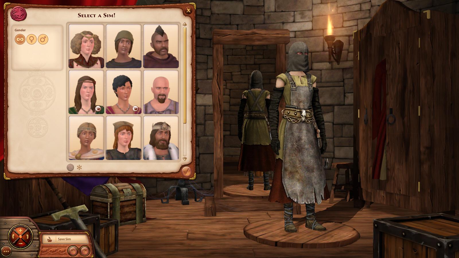 симс medieval скачать
