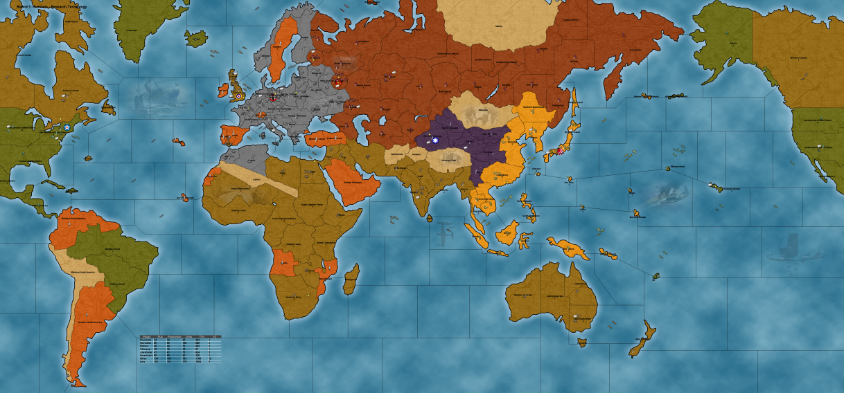 Big World map image TripleA Mod DB