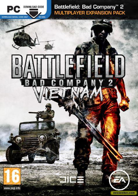Battlefield Bad Company 2 Vietnam Windows X360 Ps3 Game